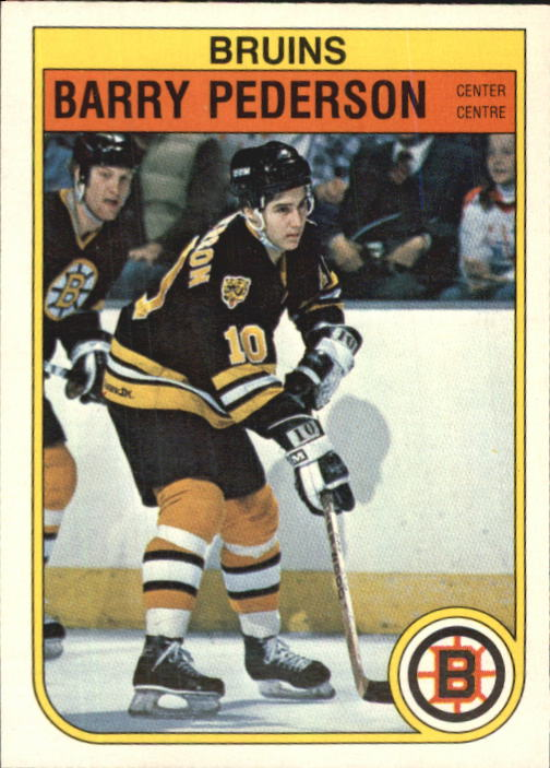 1982-83 O-Pee-Chee #20 Barry Pederson RC