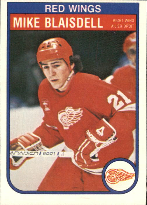 1982-83 O-Pee-Chee #81 Mike Blaisdell RC