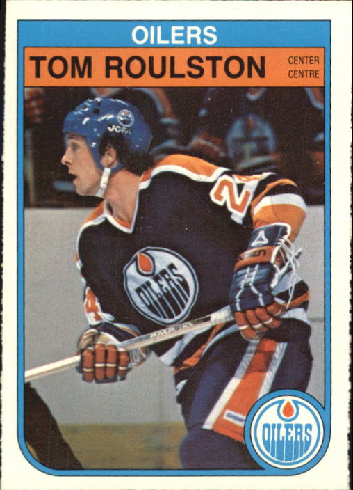 1982-83 O-Pee-Chee #118 Tom Roulston RC