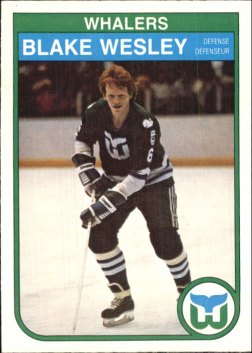 1982-83 O-Pee-Chee #133 Blake Wesley RC