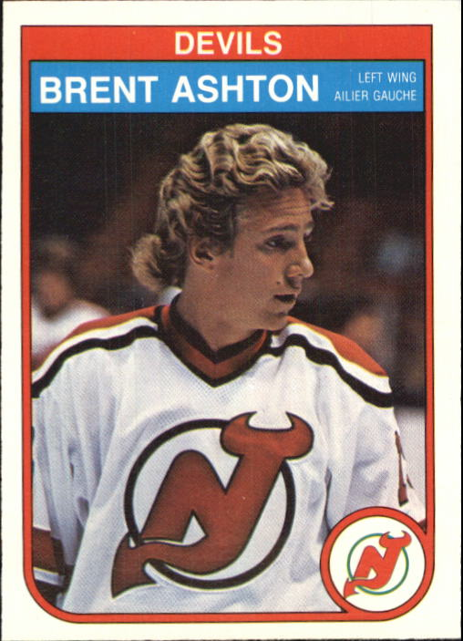 1982-83 O-Pee-Chee #135 Brent Ashton RC