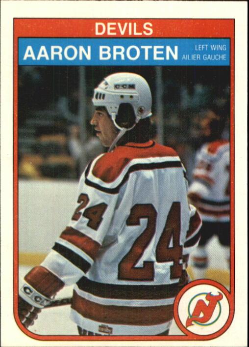 1982-83 O-Pee-Chee #136 Aaron Broten RC