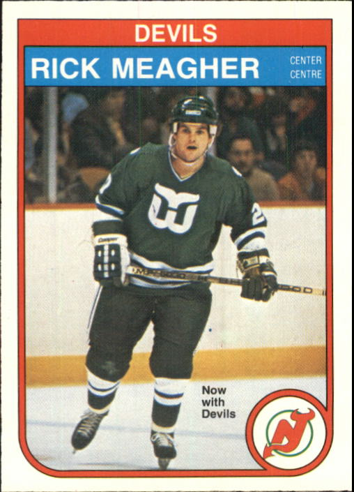 1982-83 O-Pee-Chee #144 Rick Meagher RC