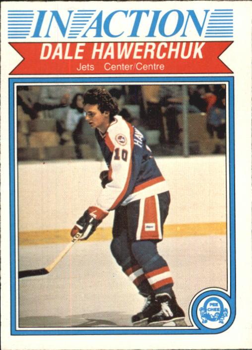 1982-83 O-Pee-Chee #381 Dale Hawerchuk IA