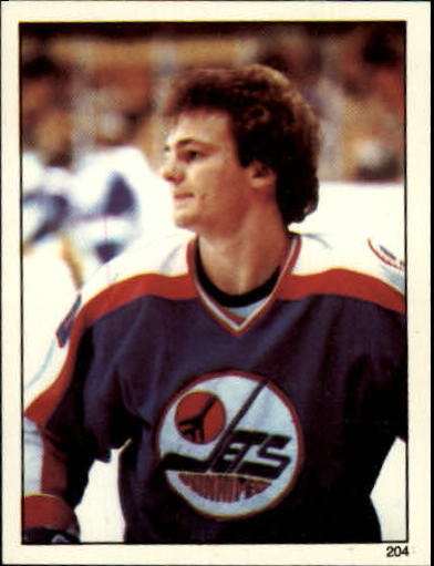 1982-83 Topps Stickers #204 Dale Hawerchuk