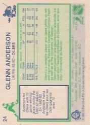 1983-84 O-Pee-Chee #24 Glenn Anderson back image