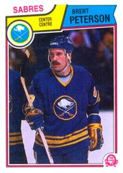 1983-84 O-Pee-Chee #68 Brent Peterson RC