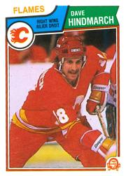 1983-84 O-Pee-Chee #82 Dave Hindmarch RC