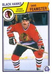 1983-84 O-Pee-Chee #100 Dave Feamster RC