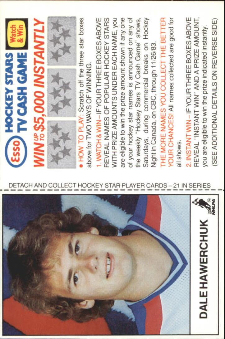 1983-84 Esso #9 Dale Hawerchuk
