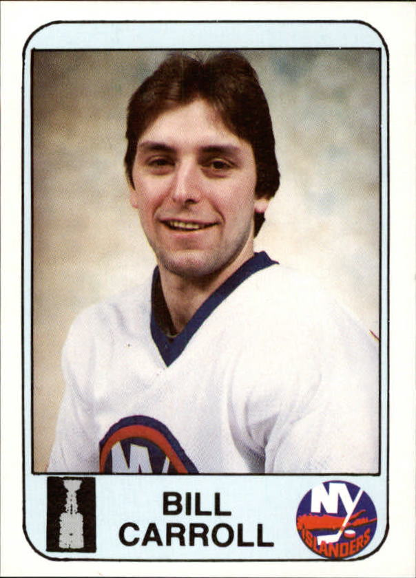 1984 Islanders News #4 Billy Carroll