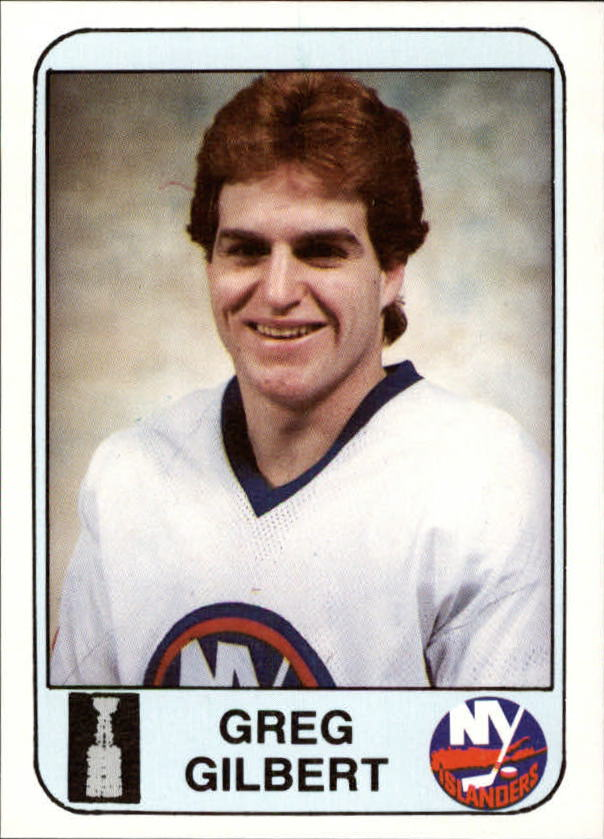 1984 Islanders News #5 Greg Gilbert