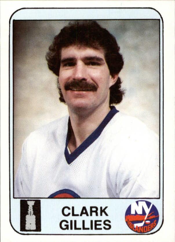 1984 Islanders News #6 Clark Gillies