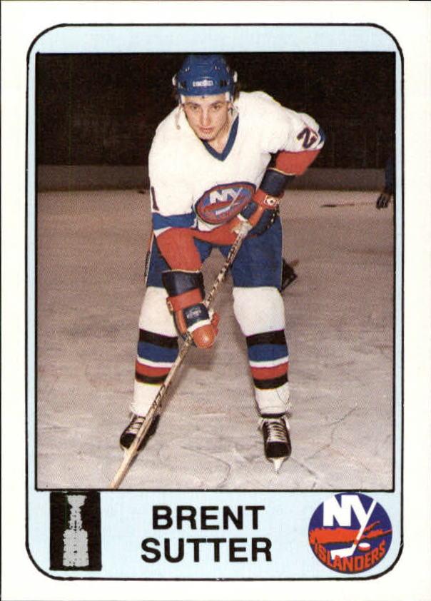 1984 Islanders News #12 Brent Sutter