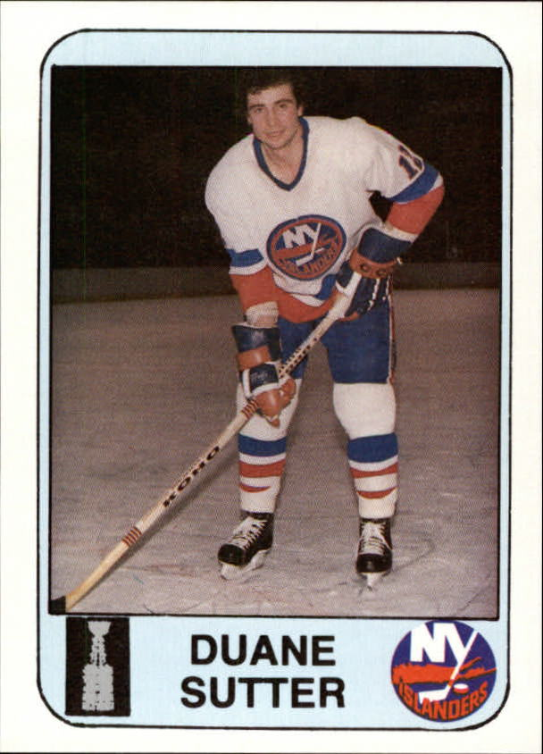 1984 Islanders News #13 Duane Sutter