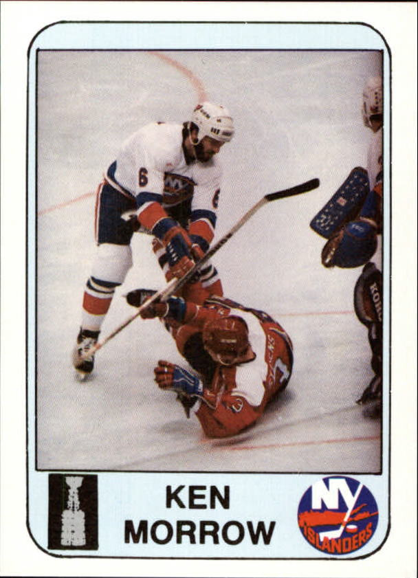 1984 Islanders News #19 Ken Morrow