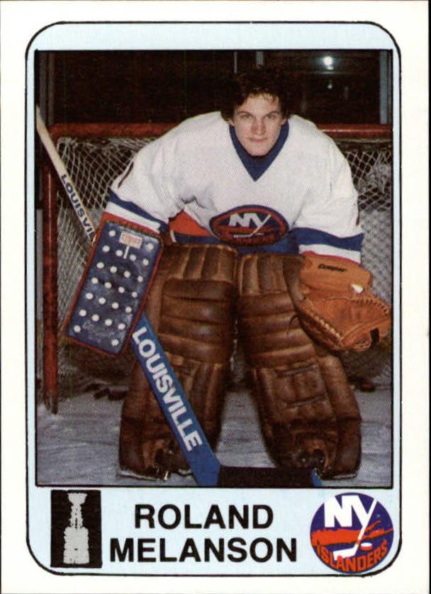 1984 Islanders News #22 Roland Melanson