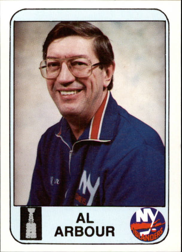1984 Islanders News #29 Al Arbour CO