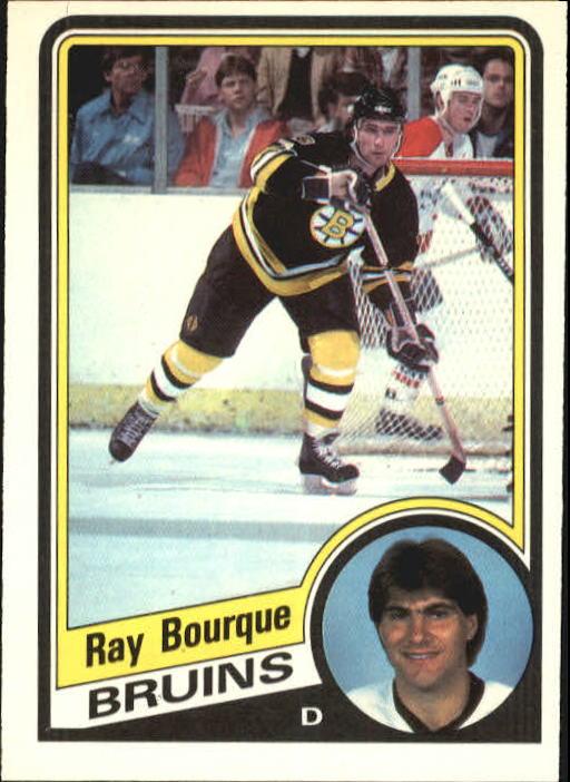 1984-85 O-Pee-Chee #1 Ray Bourque