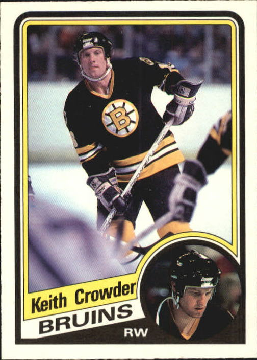 1984-85 O-Pee-Chee #2 Keith Crowder