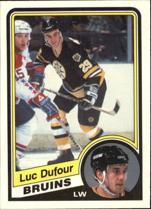 1984-85 O-Pee-Chee #3 Luc Dufour