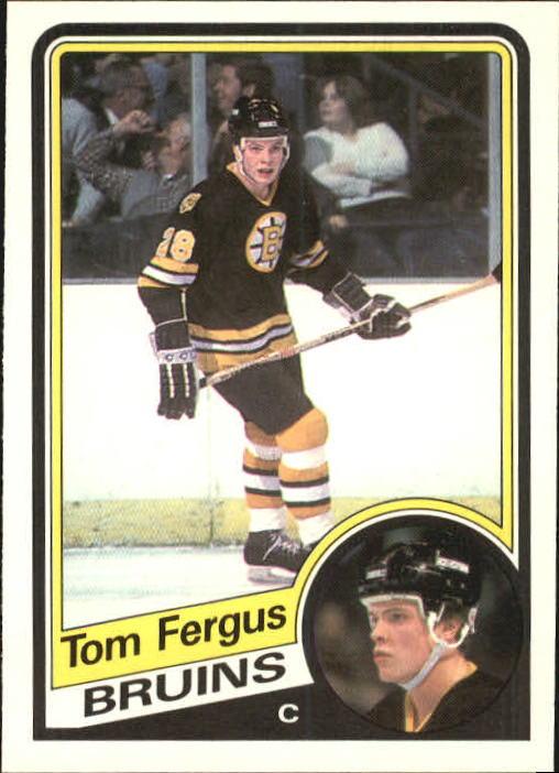 1984-85 O-Pee-Chee #4 Tom Fergus