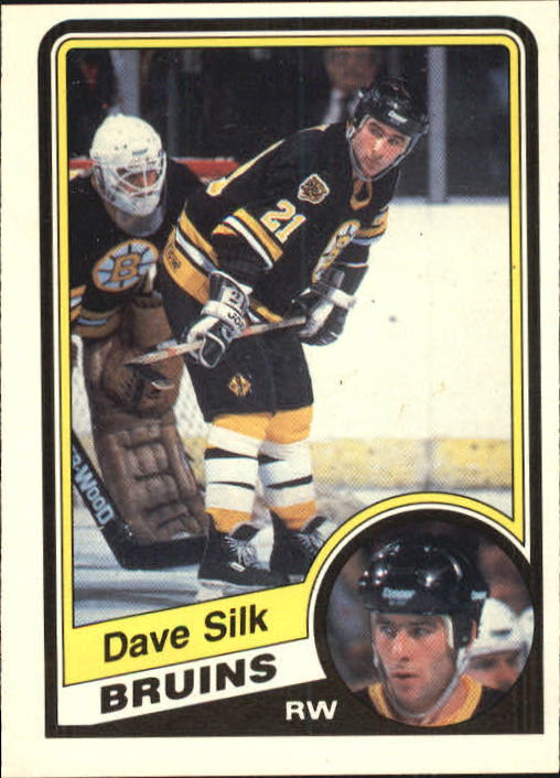1984-85 O-Pee-Chee #16 Dave Silk RC