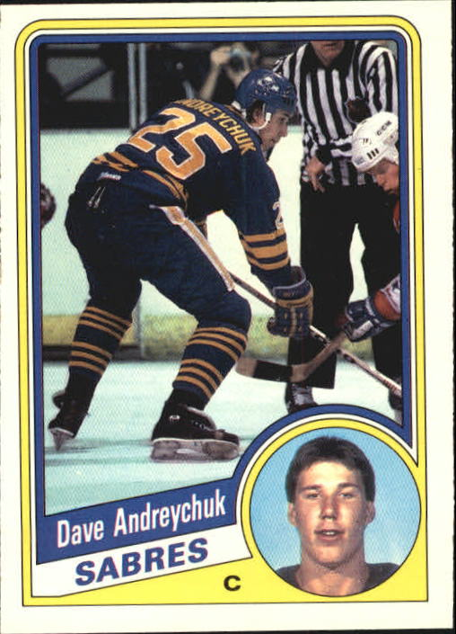 1984-85 O-Pee-Chee #17 Dave Andreychuk RC