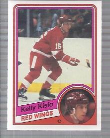 1984-85 O-Pee-Chee #56 Kelly Kisio RC