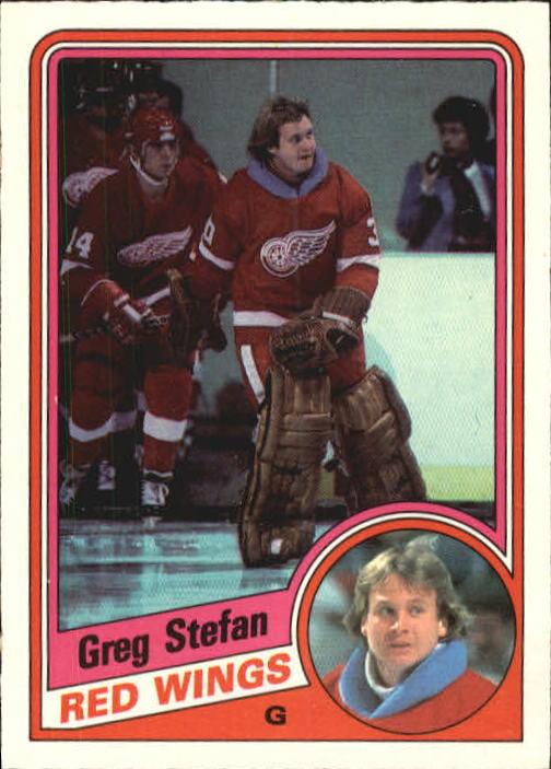 1984-85 O-Pee-Chee #65 Greg Stefan RC