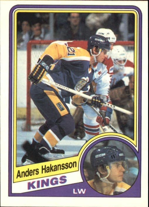 1984-85 O-Pee-Chee #85 Anders Hakansson RC
