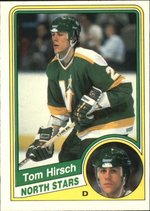 1984-85 O-Pee-Chee #99 Tom Hirsch RC