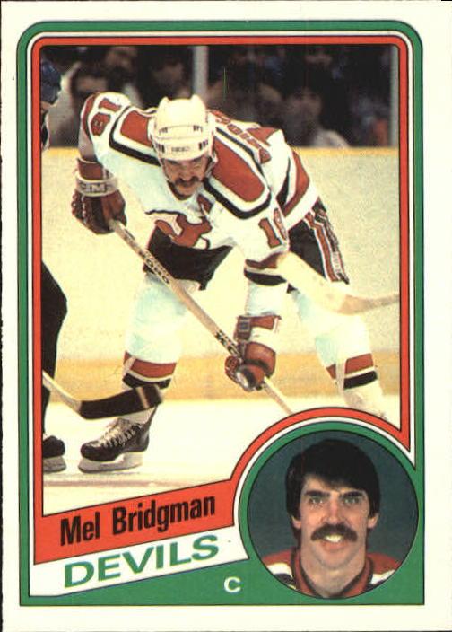 1984-85 O-Pee-Chee #109 Mel Bridgman
