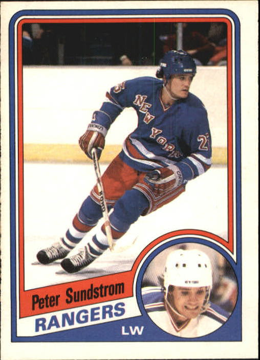 1984-85 O-Pee-Chee #155 Peter Sundstrom RC