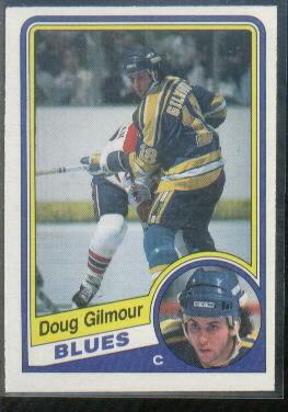 1984-85 O-Pee-Chee #185 Doug Gilmour RC