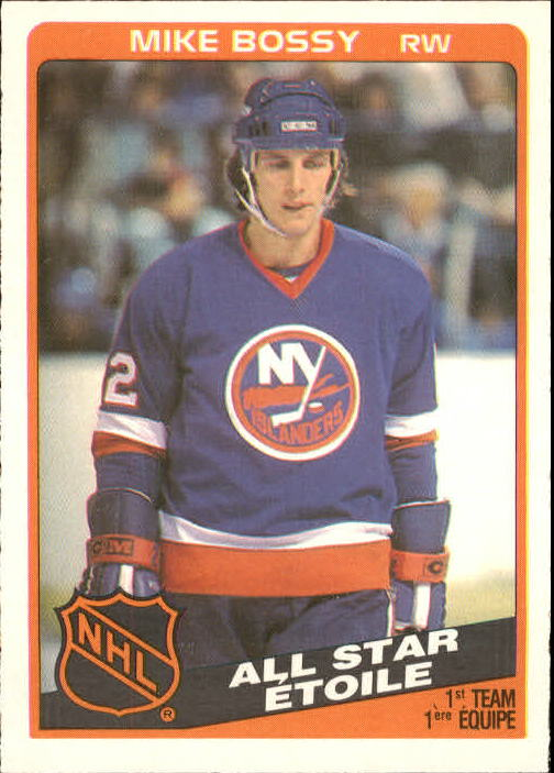 1984-85 O-Pee-Chee #209 Mike Bossy AS