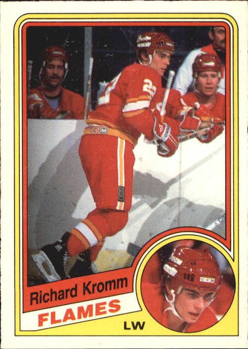 1984-85 O-Pee-Chee #227 Richard Kromm RC