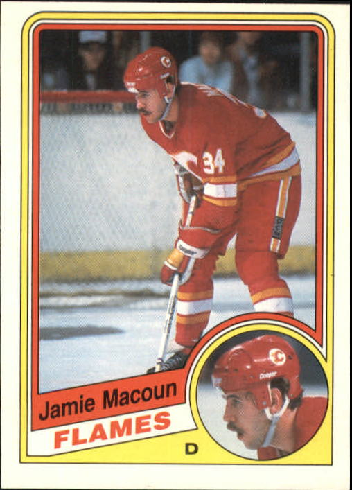1984-85 O-Pee-Chee #230 Jamie Macoun RC