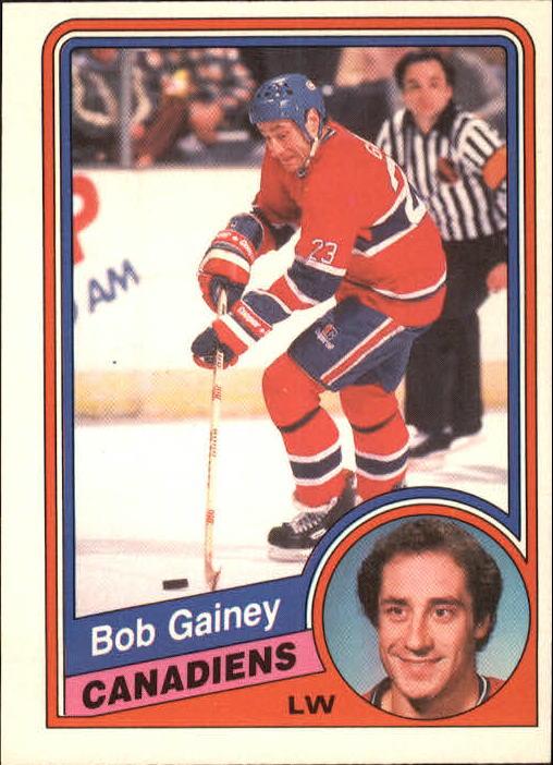 1984-85 O-Pee-Chee #261 Bob Gainey