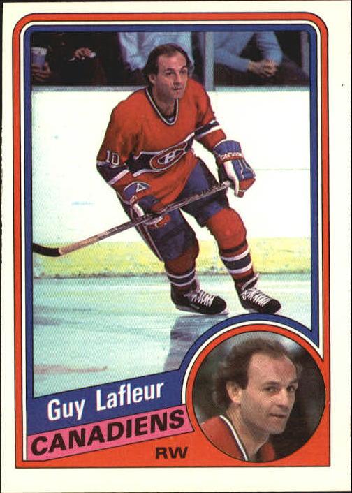 1984-85 O-Pee-Chee #264 Guy Lafleur
