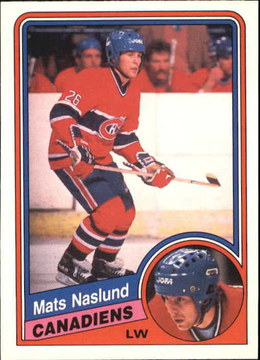 1984-85 O-Pee-Chee #267 Mats Naslund