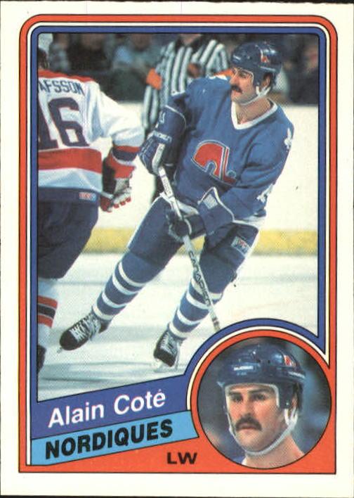 1984-85 O-Pee-Chee #278 Alain Cote