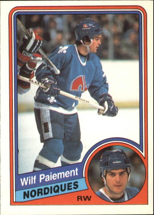1984-85 O-Pee-Chee #285 Wilf Paiement