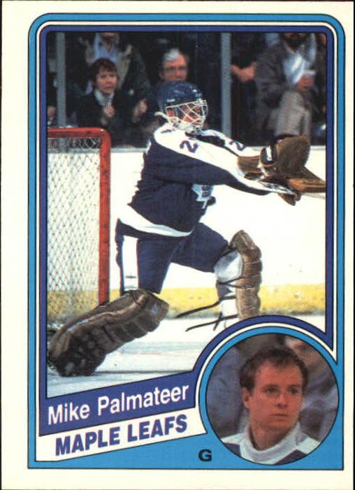 1984-85 O-Pee-Chee #308 Mike Palmateer