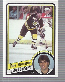 1984-85 Topps #1 Ray Bourque
