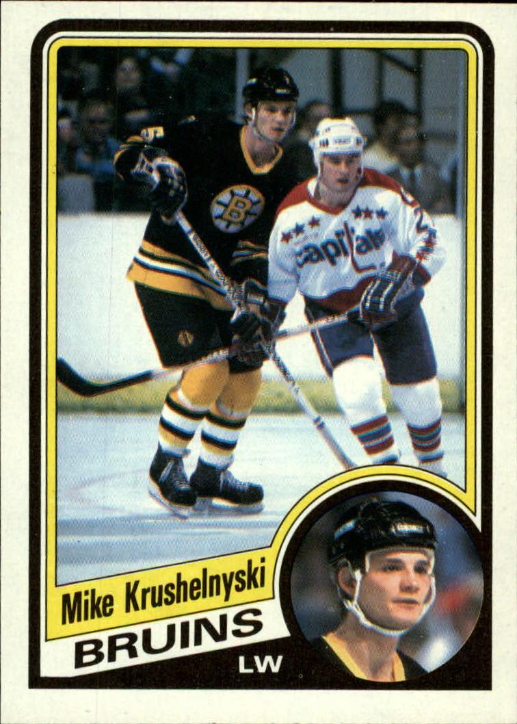 1984-85 Topps #6 Mike Krushelnyski SP