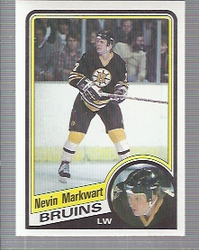 1984-85 Topps #7 Nevin Markwart RC