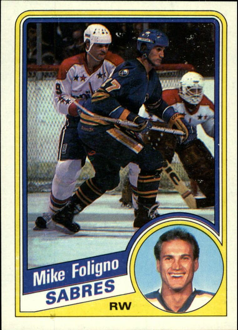 1984-85 Topps #16 Mike Foligno