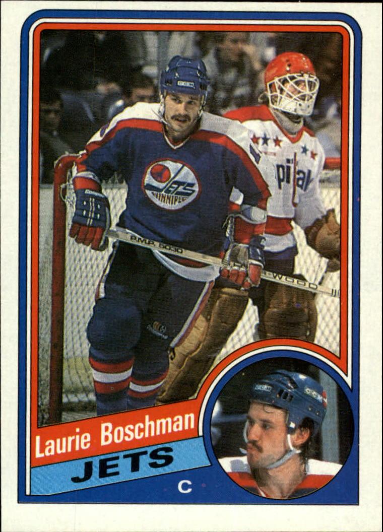 1984-85 Topps #151 Laurie Boschman