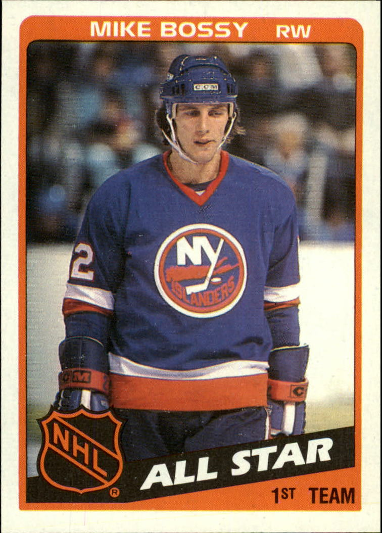 1984-85 Topps #155 Mike Bossy AS